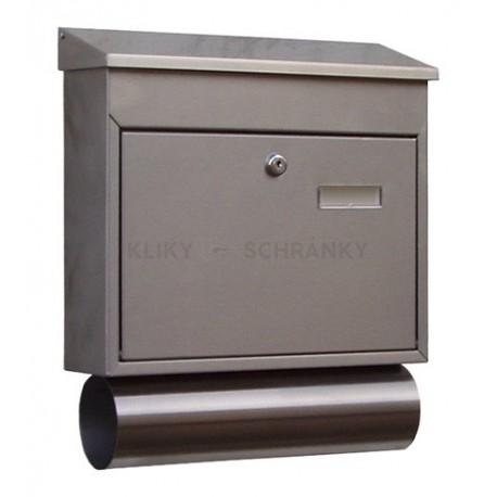 SLI7 poštovní schránka nerez