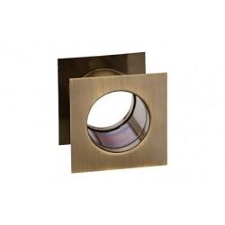 Ventilační průduch bronz hranatý