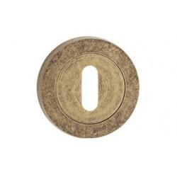 Štít dolní na klíč antický bronz