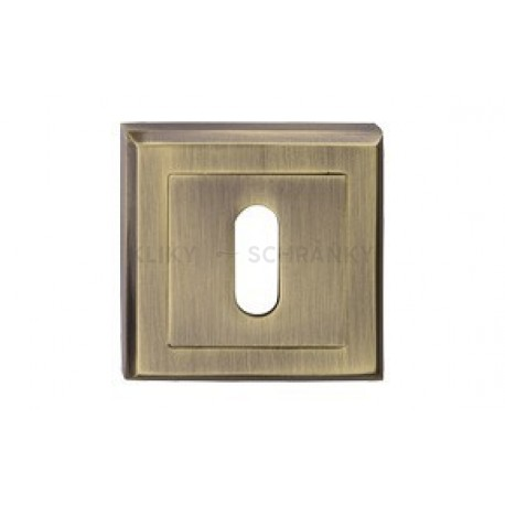 Dolní štít na klíč hranatý Bronz