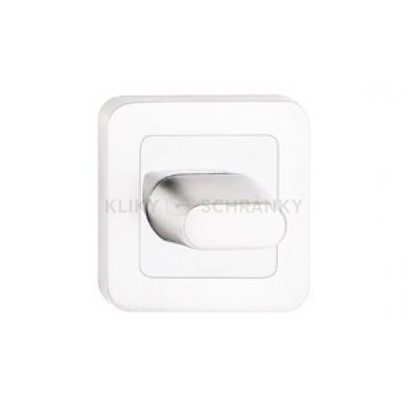 Dolní štít na WC stříbro satén