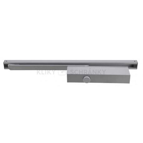 DC.S610 zavírač stříbrný - kluzné ramínko