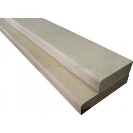 Práh dubový 90x7x2cm
