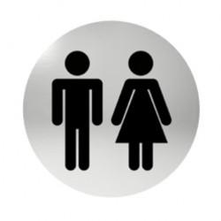 Označení dveří samolepící - WC