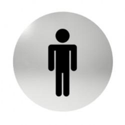 Označení dveří samolepící - WC páni