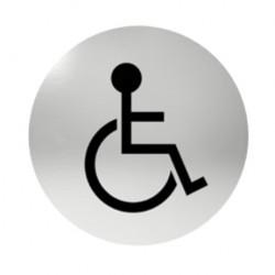 Označení dveří samolepící - pro invalidy