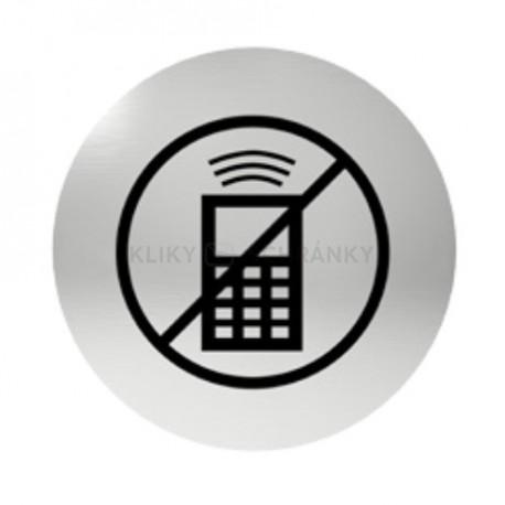Označení dveří samolepící - zákaz telefonování