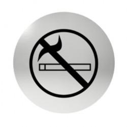 Označení dveří samolepící - zákaz kouření