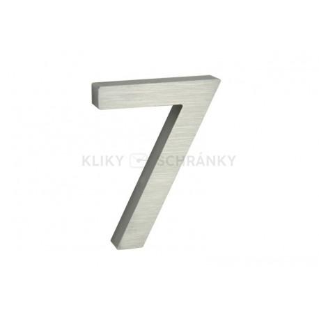 """Číslo """"7"""" 3D 100mm Al"""