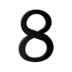 """číslo 175mm černé """"8"""""""