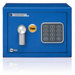 Yale Value Safe mini modrý