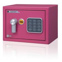 YALE VALUE Mini YSV/170/DB1 sejf růžový