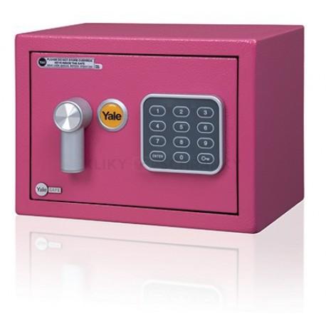 Yale Value Safe mini růžový