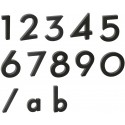 """Písmeno """"a"""" 3D černé"""