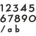 """Písmeno """"b"""" 3D černé"""