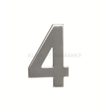 """Číslo """"4"""" 95mm nerez"""