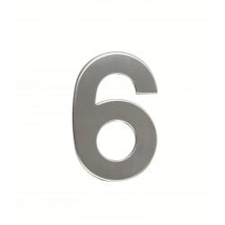 """Číslo """"6"""" 95mm nerez"""