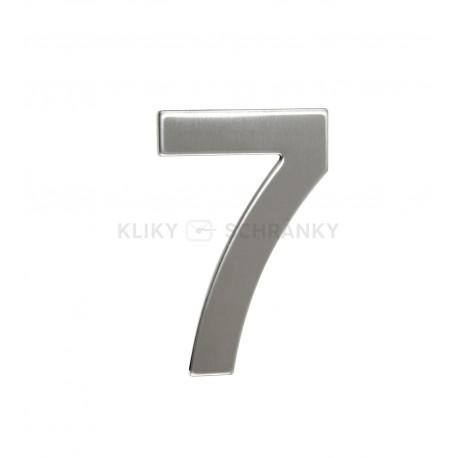 """Číslo """"7"""" 95mm nerez"""