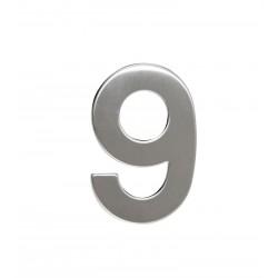 """Číslo """"9"""" 95mm nerez"""