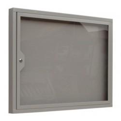Informační vitrína s otevíracími dveřmi 730 x 700