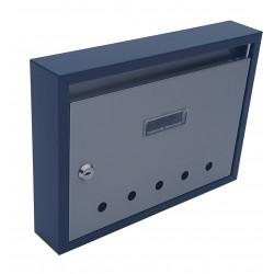 PANEL RAL7016 + nerez poštovní schránka