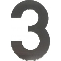 """číslo 145mm nerez """"3"""""""