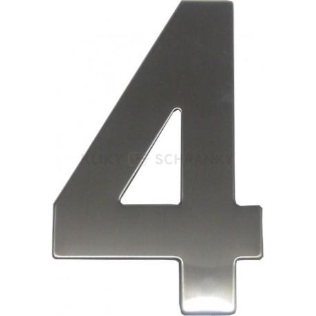 """číslo 145mm nerez """"4"""""""
