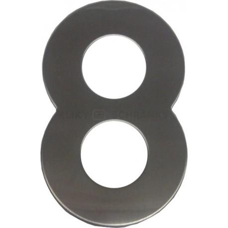 """číslo 145mm nerez """"8"""""""