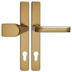 Hoppe LONDON 30mm klika-madlo F4 bronz
