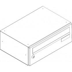 SJ 370/110 poštovní schránka jednostranná RAL