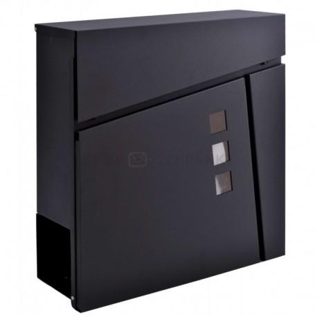 JOHAN poštovní schránka černá