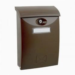 ABS hnědá Poštovní schránka plast