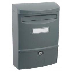 ABS II grafit poštovní schránka plast