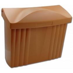 PH ležatá poštovní schránka terakota