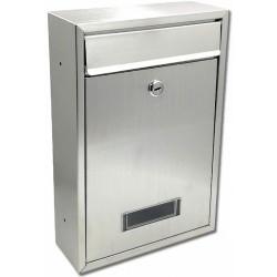 TECH poštovní schránka nerez