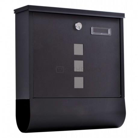 HANS poštovní schránka černá