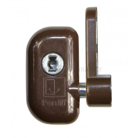 RHL VZ RAL 8016 TH okenní zámek hnědý