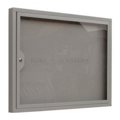 Informační vitrína s otevíracími dveřmi 520 X700