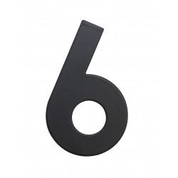 """RN.75L číslice """"0"""" matná černá"""