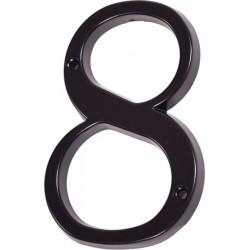 """Číslo """"8"""" černé 120mm"""