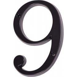 """Číslo """"9"""" černé 120mm"""