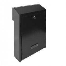 W3 poštovní schránka černá