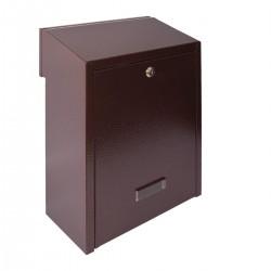 W3 - 1 poštovní schránka měděný antik