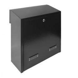 W3 - 3 poštovní schránka černá