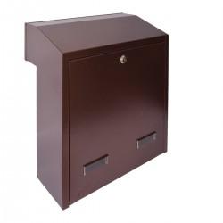 W3 - 4 poštovní schránka měděný antik