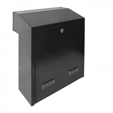 W3 - 4 poštovní schránka černá