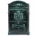 BK301 poštovní schránka zelený antik