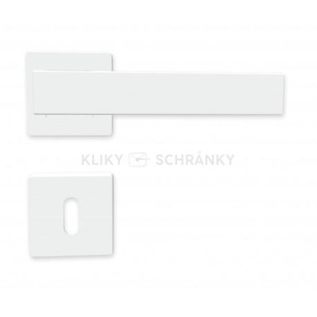 K01 BB klika na dveře bílá