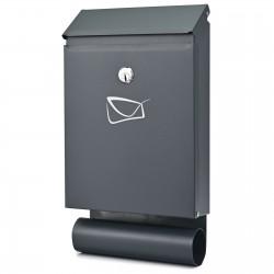 D3687 poštovní schránka antracit