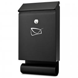 D3687 poštovní schránka černá
